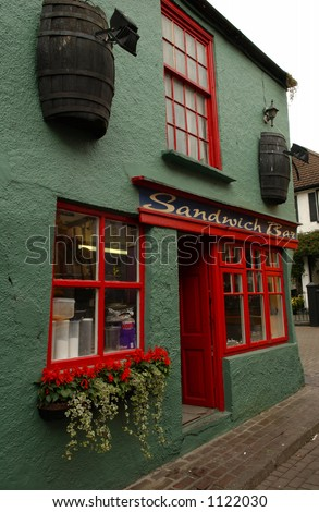 Ireland - Kinsale, County Cork Sandwich Bar