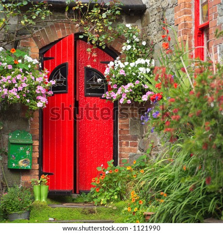 Ireland - Kinsale - Red Door