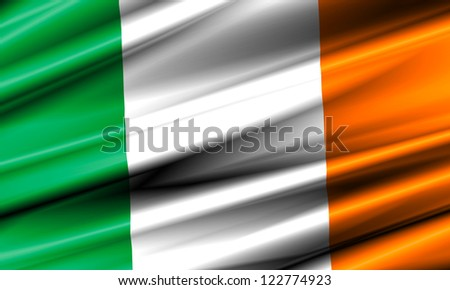 Ireland Waving Flag