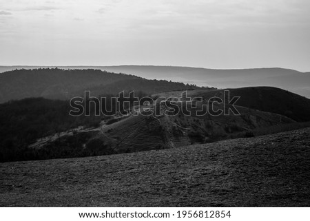 Irhás árok landscape in hungary  Stock fotó ©