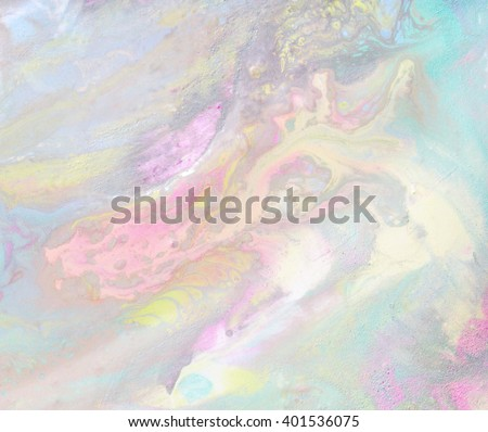 Shutterstock Iridescent color transitions. Pale blue, green, yellow, pink and purple color streaks. Light petrol stain.