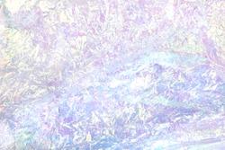 iridescent plastic crinkle foil
