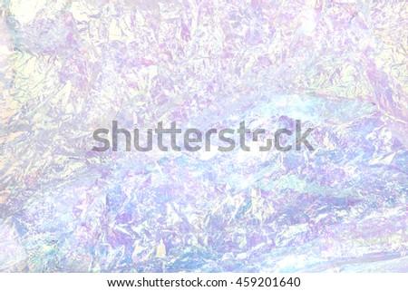 Shutterstock iridescent plastic crinkle foil