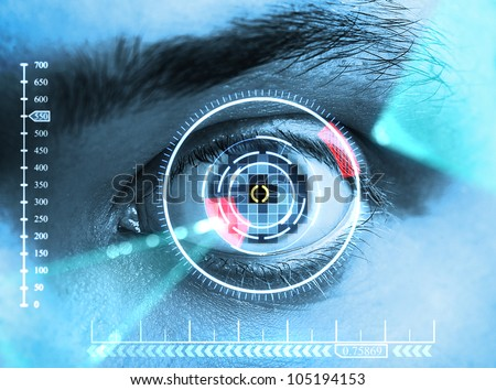 iris scan security