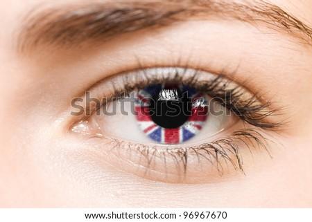 iris with flag