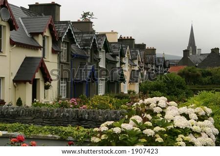 Irish Row Homes