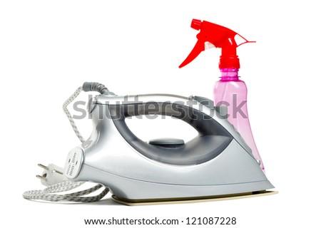 iron and spray