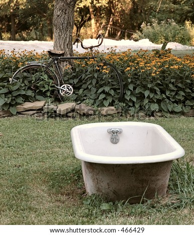 Iron Bath Tub