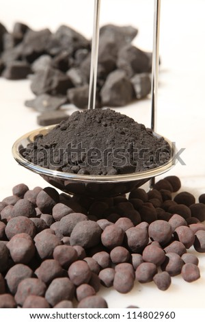 Iron Concentrate, iron ore pellets and iron ore