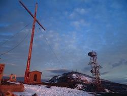 Iron Cross, Mount Pentelicus, Greece
