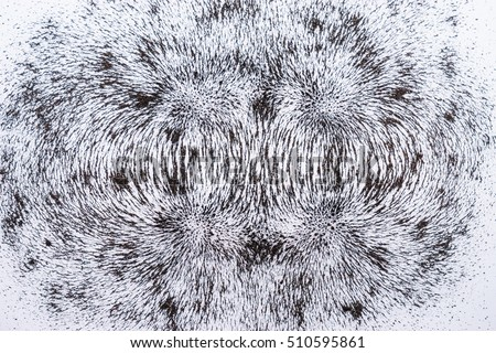 iron filings show magnetic field lines. Science Magnetic Field. Physics magnetic field. Two Magnetic Field.