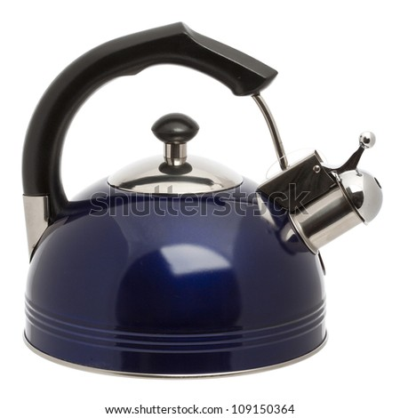 Iron Kettle Kitchen, isolated on white background
