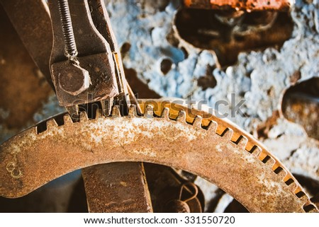 Iron mechanism