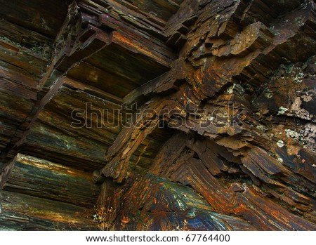 Iron ore texture - nature background
