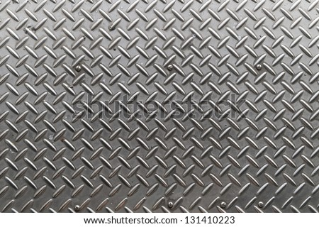 Iron plate texture as background