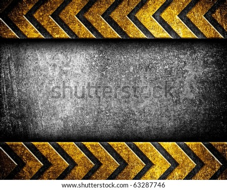 iron plate with arrow pattern