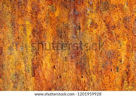 Iron texture in sunlights #1201959928