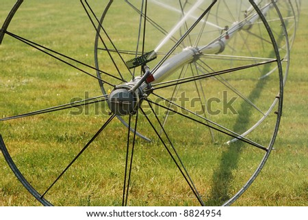 Irrigation Wheel Line