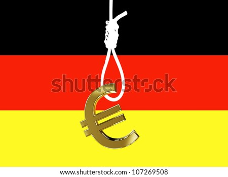 Is the Euro the hangman of Germany's economic prosperity? Germans feel threatened by the debt crisis