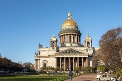 Isaac's cathedral in St. Petersburg