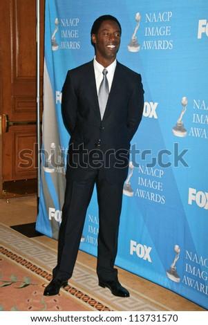 Isaiah Washington at the Press Conference for the 38th NAACP Image Awards. The Peninsula Hotel, Santa Monica, CA. 01-09-07