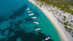 Isla Catalina is an island around 9km located east of Dominican Republic