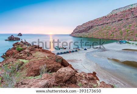 Isla espiritu santo Foto stock ©