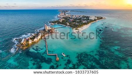 isla mujeres iskand near Cancun Mexico Foto stock ©