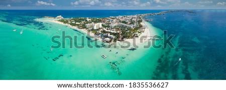 isla mujeres island near Cancun Mexico Foto stock ©