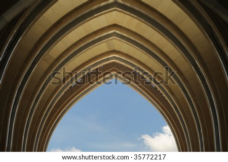 Muslim Architecture on Islamic Architecture Of Frame Arch Stock Photo ...