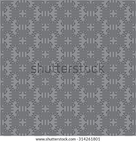 Islamic background, wallpaper. Design template. Geometric tiles. Pattern background in retro style for your design. Islamic texture. Grey