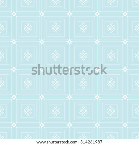 Islamic background, wallpaper. Design template. Geometric tiles. Pattern background in retro style for your design. Islamic texture. Blue