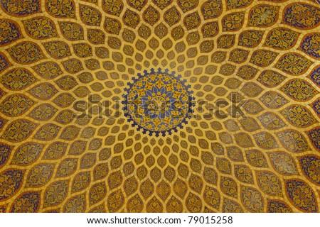 islamic dome art