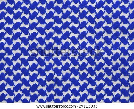 Islamic keffiyah pattern. More of this motif & more fabrics in my port.