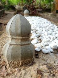 Islamic Muslim Grave Yard in Thailand