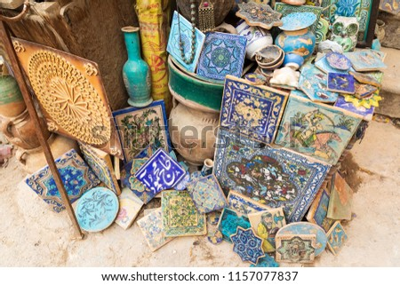 MUSCAT, OMAN -21 DEC 2016- The Muttrah… Stock Photo 554009230