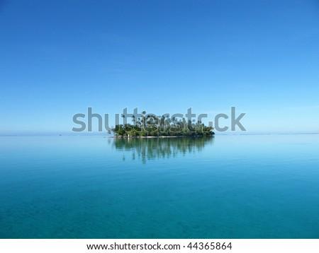 Island in Raiatea - French Polynesia