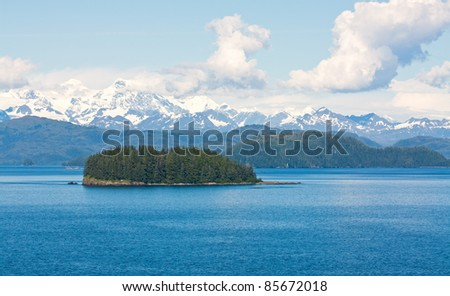Island in the Gulf of Alaska Wilderness