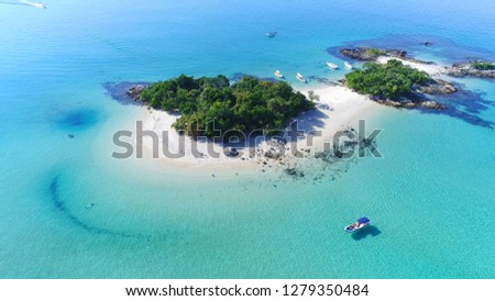 Island of Cataguas - Angra dos Reis - Rio de Janeiro - Brazil