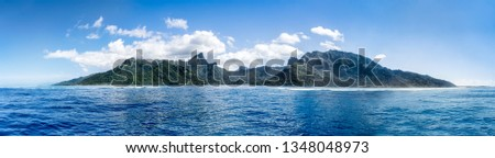 Island of Moorea, Tahiti, Oceania, French Polynesia