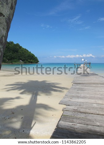Island Paradise Beach #1143862205