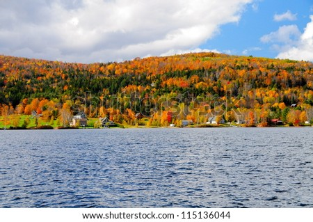 Island Pond, Brighton, Vermont, USA