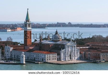 Isola San Giorgio Maggiore in Venice, Italy