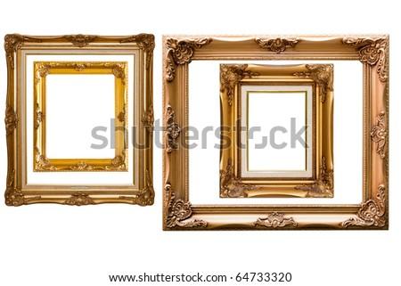 Isolate Wooden frame