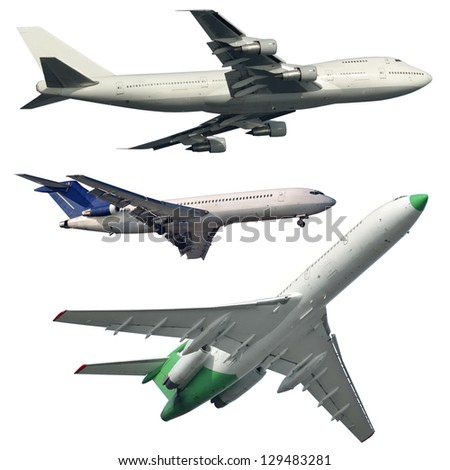Isolated Aircrafts