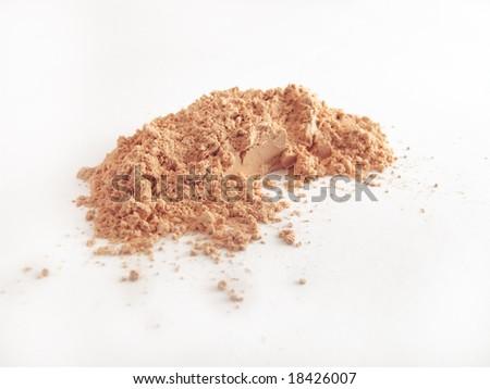 Isolated batch of powder