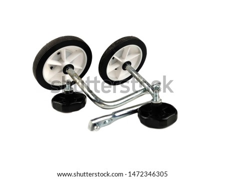ISOLATED Bicycle Stabilizers Mounted Kit