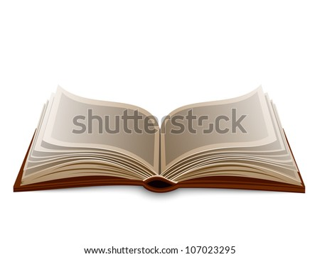 Isolated book. Raster version, vector file id: 106486835