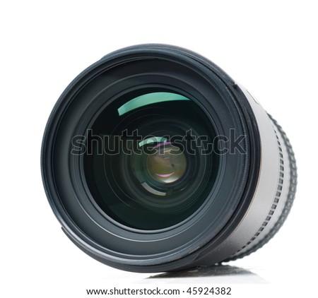 Isolated camera lens