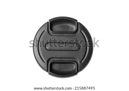 Isolated camera lens cap #215887495